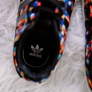 adidas Shoes - Rainbow Adidas Size 8 Toddler Shoes